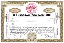 Transogram Company, Inc. - Pennsylvania 1969