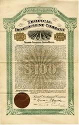 Tropical Development Company - Cuba Isle Of Pines - New York 1904