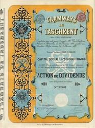 Tramways De Taschkent - Usbekistan, Russia 1897