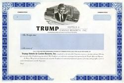 Trump Hotels and Casino Resorts (Rare Specimen Proof) - (Pre Bankruptcy)
