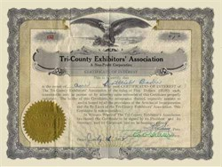 Tri-County Exhibitors' Association 1932 - North Dakota