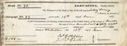 Loan Office of Oneida County, New York - 1837