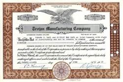 Trojan Manufacturing Company 1950's