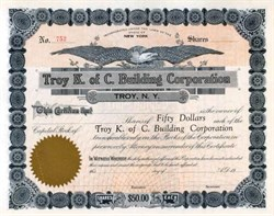 Troy K. of C. Building Corporation
