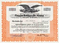 Trenton Robbinsville Airport - New Jersey 1970