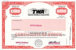 Trans World Airlines, Inc. (TWA) - Delaware