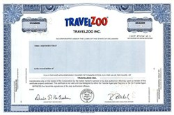 Travel Zoo, Inc.  - Delaware