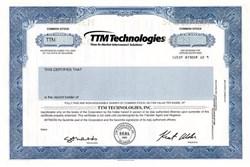 TTM Technologies - Delaware