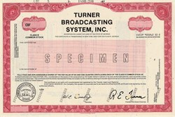 Turner Broadcasting System, Inc. (Ted Turner as President) - Georgia