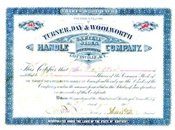 Turner, Day & Woolworth Ax Handle Company - Louisville, Kentucky 1905