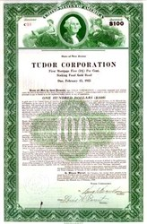 Tudor Corporation Gold Bond 1930 - George Washington (Dollar Bill) Vignette