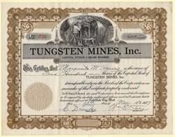 Tungsten Mines, Inc. - Utah 1937
