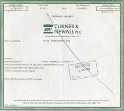 Turner & Newall PLC