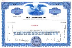 Tyco Laboratories, Inc. (Founder Arthur J. Rosenberg as President)  - Massachusetts
