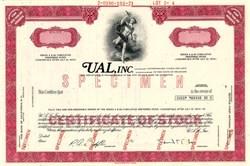 UAL, Inc. ( United Air Lines ) Specimen - Delaware 1971