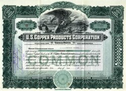 U.S. Copper Products Corporation - 1919