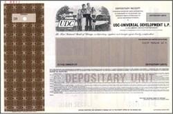 UDC - Universal Development L.P.