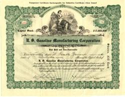 U.S. Gasoline Manufacturing Corporation - Virginia 1922