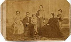Ulysses S. Grant Family Photo - 1860