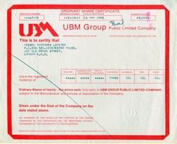 UBM Group, p.l.c.