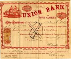 Union Bank of South Carolina - 1871