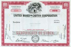 United Board & Carton Corporation (Wheelabrator - Fyre )