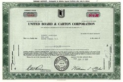 United Board & Carton Corporation