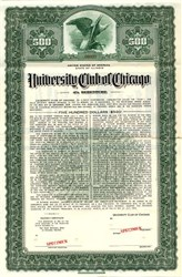 University Club of Chicago - Illinois 1942