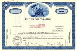 Unitek Corporation - California 1970
