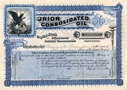 Union Consolidated Oil Company - 1901