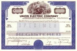 Union Electric Company - Missouri