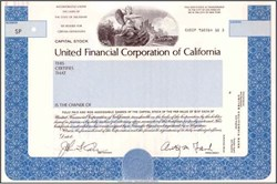 United Financial Corporation of California