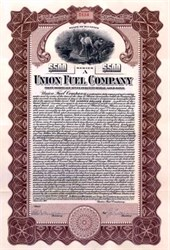 Union Fuel Company 1919 - Illinois -- Gold Bond