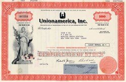 Unionamerica, Inc. - 1976 ( Now Genstar )