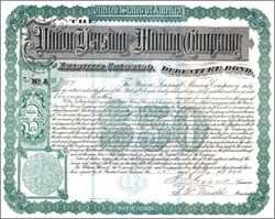 Union Leasing and Mining Company 1896 - Leadville, Colorado