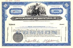 United Merchants and Manufacturers, Inc