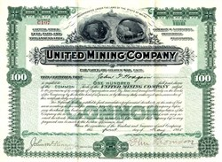 United Mining Company - California, Arizona and Colorado - 1905