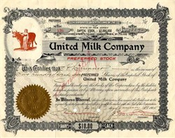United Milk Company - New Jersey 1905
