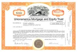 Unionamerica Mortgage and Equity Trust - California 1974