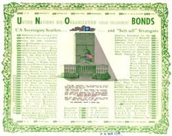 United Nations Dis-Organization Fabian Enslavement Bond 1962