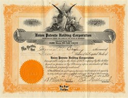 Union Patents Holding Corporation - Michigan 1932