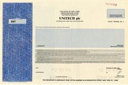 Unitech plc - England 1989