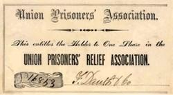 Union Prisoners' Relief Association - Civil War Era