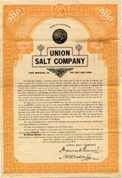 Union Salt Company Gold Bond - Los Angeles, California 1914