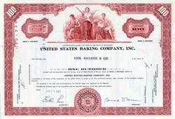 United States Baking Company, Inc.