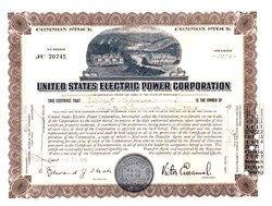 United States Electric Power Corporation 1935