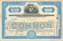 United States & International Securities Corporation 1930