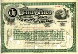 United States Playing Card Company - Cincinnati, Ohio - 1917