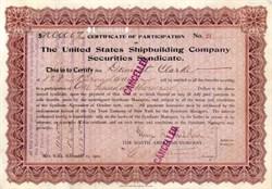 United States Shipbuilding Company 1902