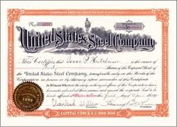 United States Steel Company 1903 - West Virginia